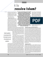 What is Progressive Islam