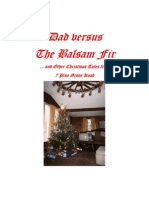 Dad vs the Balsam Fir