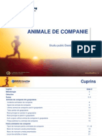 Studiu Pets 2007 Romania