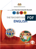 English Teachers Guide Book Year 4 for PPPM