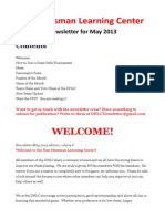 DHLC 2013 May Newsletter