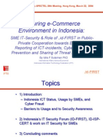 Securing e-Commerce Environment in Indonesia