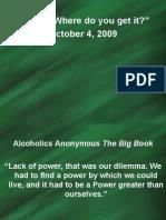 Sermon Pwr Pnt-2009-10-04