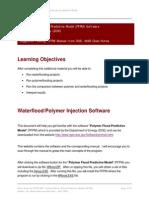 Module 6a - Polymer Water Flood Predictive Model (PFPM) Software
