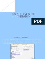 Base de Datos en PHP My Admin