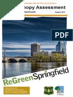 Springfield, MA i-Tree Canopy Report