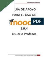 Usuario Profesor Moodle