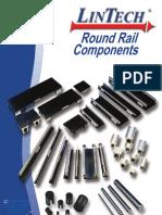 Lintech Round Rail Components Catalog