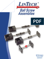 Lintech Ball Screw Assemblies Catalog
