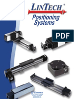 Lintech Positioning Systems Catalog