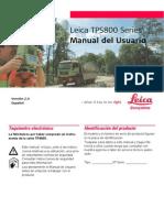 TPS800 UserManual Es