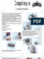 Tutorial - Cosplay - Papel Machê