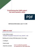 CESM CAM Practical Lab2 Part1