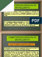 Andalucía Competencias en Bachillerato