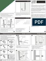 Manual de Instação Para Puxadores Tubulares
