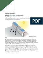 Solar Push for Railways IMP