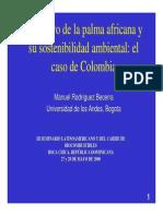 1. Manuel Rodríguez - Colombia U Andes