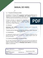 A.0. Ger-001-m Manual de Hseq v0 20-Dic-2010