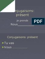 Conjugaisons