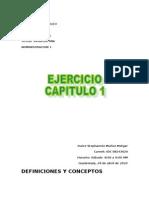 Cap 1 Conceptos y Terminos Administracion