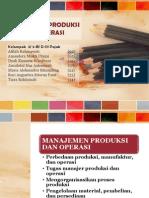 Manajemen Produksi Dan Operasi_2B D3 Pajak_Kelompok 2