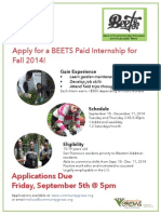 Fall 2014 Beets Flyer