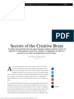 Secrets of the Creative Brain -