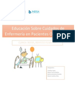 Informe Educacion de Pactes Oncologicos