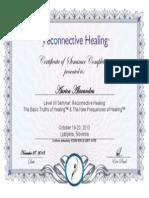 Aura Certificat