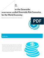 Alternative Global Downside Risk Scenarios for the World Economy
