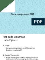 3. Cara Pengerjaan RDT