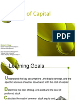 Presentation1Cost of Capital