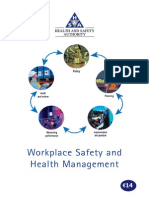 Workplace Safety and Health Management