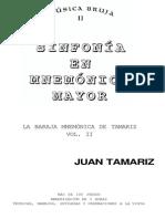 Tamariz - Sinfonia en Mnemonica Mayor 2