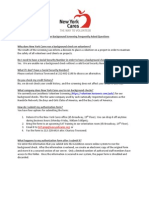 Kaplan Background Check FAQs