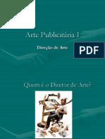 Arte Publicitária I - Direção de Arte