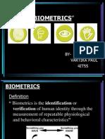 biometrics seminar ppt