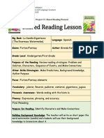 project 5 shared reading protocol