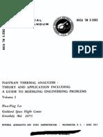 Nasa Thermal Analyzer