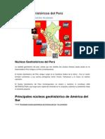 Núcleos Geohistóricos Del Perú
