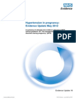 Hypertension+in+pregnancy+Evidence+Update+May+2012