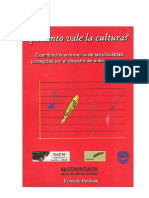 Ernesto Piedras-Cuanto Vale La Cultura