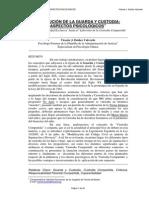 Evolución de La Guarda y Custodia - Aspectos Psicológicos