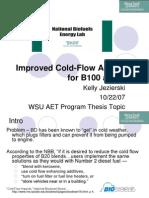 Improved Cold-Flow Additives