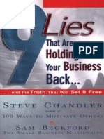 Steve Chandler and Sam Beckford - 9 Lies That Are Holding Your Business Back