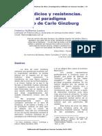 LORENZ- Paradigma Indiciario de Ginzburg