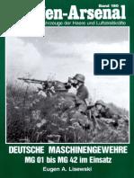 Waffen Arsenal - Band 180 - Deutsche Maschinengewehre MG 01 bis MG 42 im Einsatz
