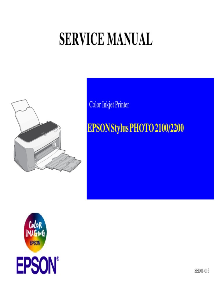 epson 2200 service manual printer computing printing rh scribd com Epson 2200 Ink Black Epson 2200 Driver