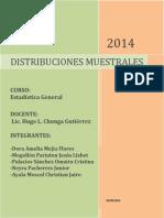 Trabajo Estadistica DistribucionesMuestrales