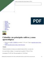 Colombia_ Sus Principales Cultivos y Zonas Agroecológicas - AGRO 2